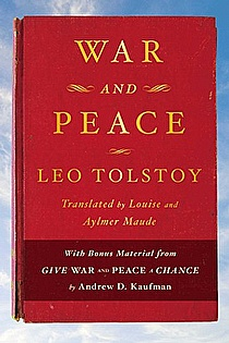 War and Peace ebook cover