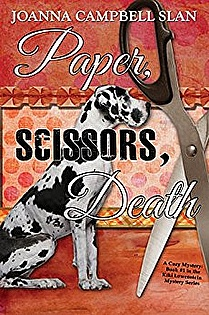 Paper, Scissors, Death: Book #1 in the Kiki Lowenstein Mystery Series  ebook cover