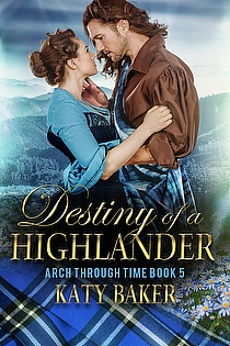Destiny of a Highlander ebook cover