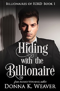 Hiding with the Billionaire ebook cover