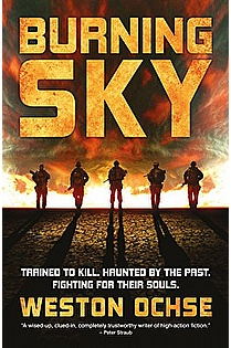 Burning Sky ebook cover