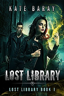 Lost Library: An Urban Fantasy Romance ebook cover